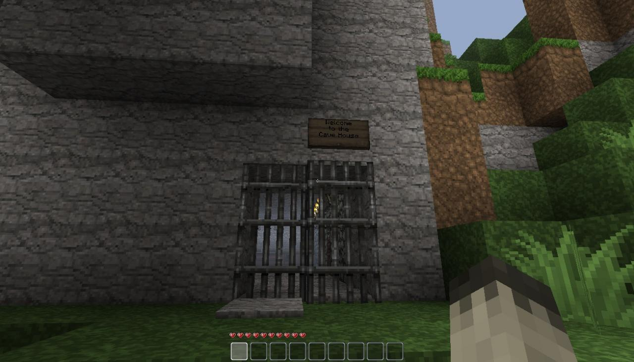 The Cave House Minecraft Project