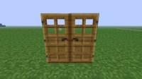 Duplicate Wooden door glitch/bug. Minecraft Project
