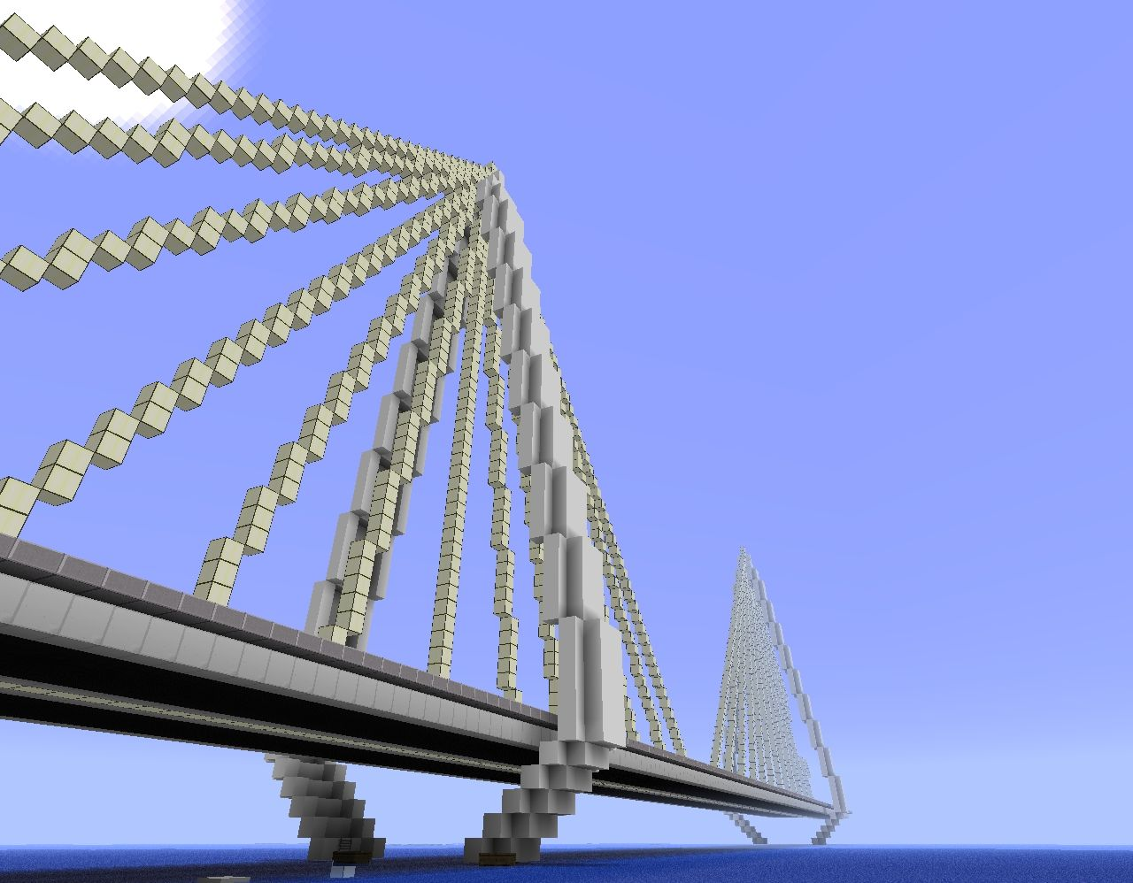 Suspension Design Report Modern Cable Suspension Bridge Minecraft Project