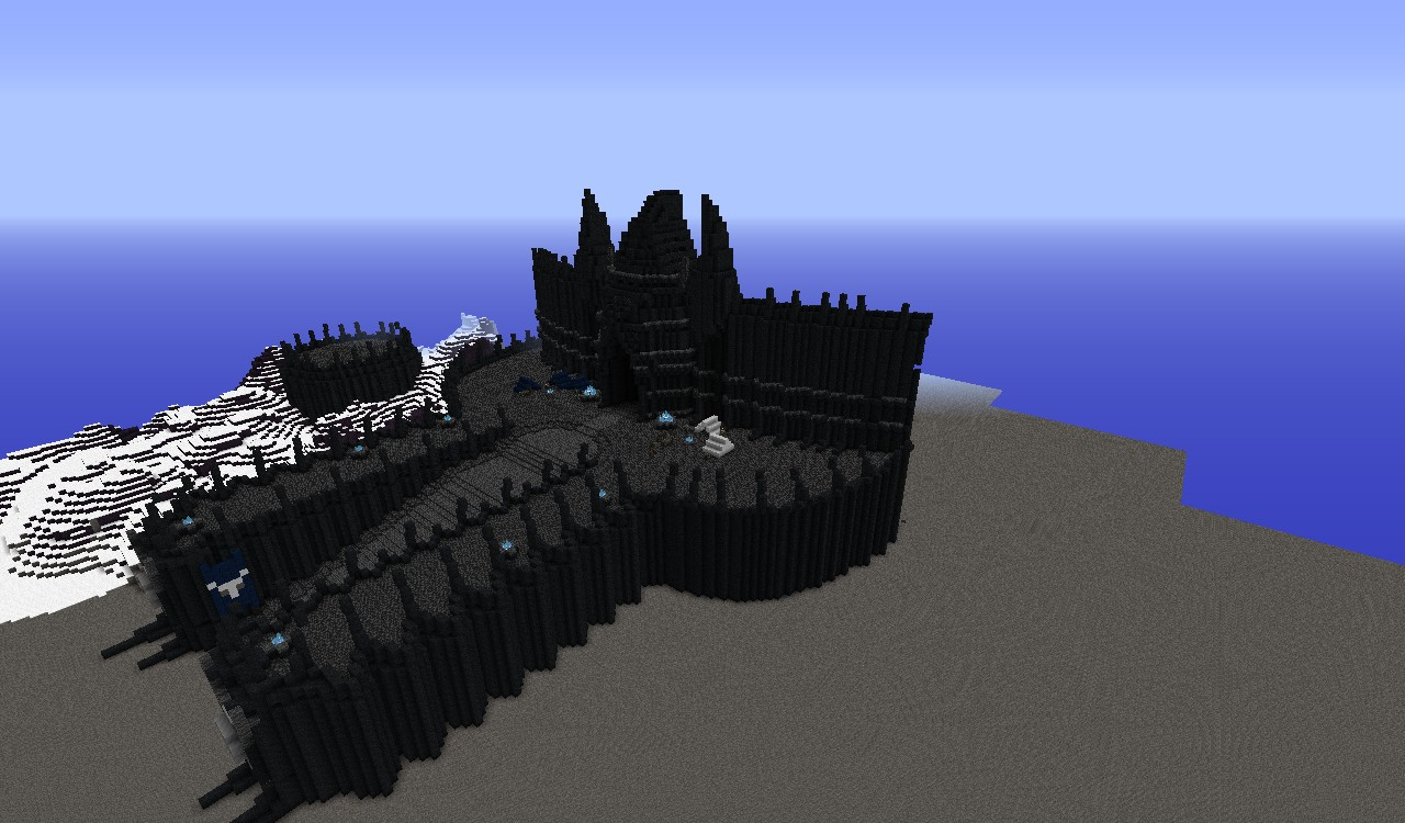 Fall Of The Lich King Wallpaper Icecrown Citadel Wip Minecraft Project