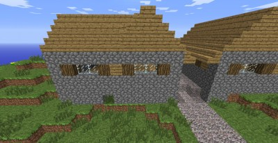 1.8 NPC Village+Farm Minecraft Project