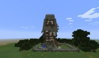 Little Brittle House Minecraft Project