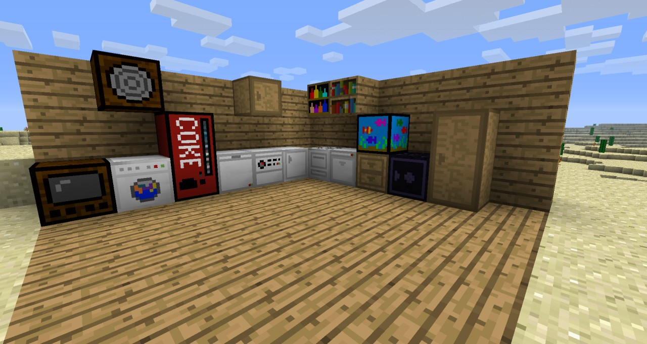 Minecraft Kitchen Mod 1.8 Brainader S Appliances Mod Minecraft Mod