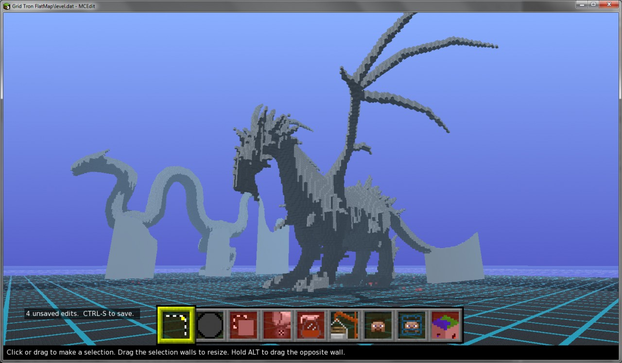 Giant Dragon Statue Giant Dragon Statue Minecraft Project