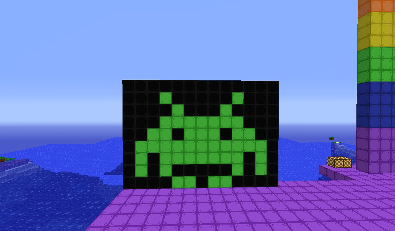 Space Invaders Minecraft Project