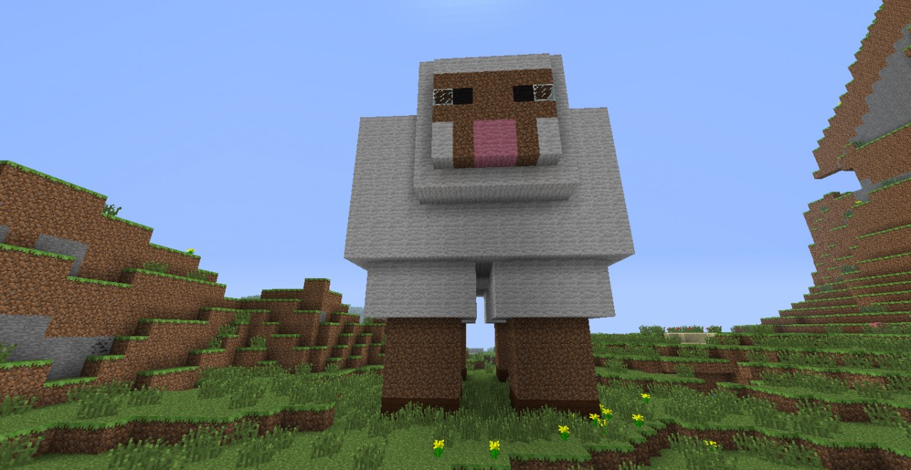 Giant Sheep! Minecraft Project