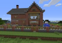 Brick House Minecraft Project