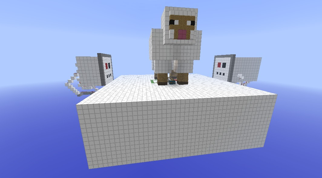 Minecraft Mini Game: Color The Sheep Minecraft Project