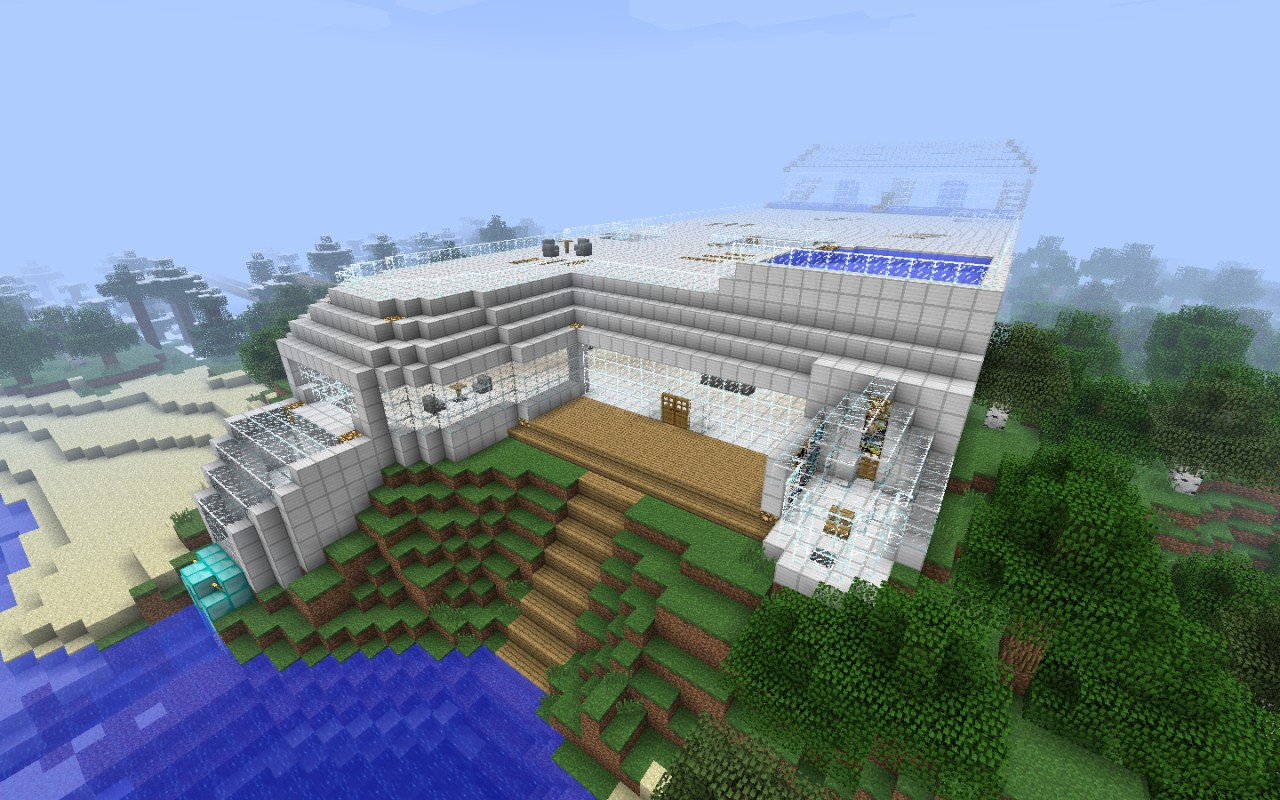 Brilliant House Ultimate House Minecraft Project