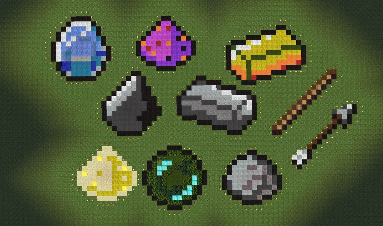Screenshot Wallpaper Gravity Falls Poorly Made Minecraft Random Items Pixel Art Kaunas