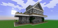 Cool House with Basement Minecraft Project
