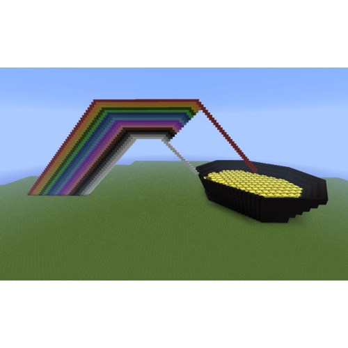 Medium Crop Of Pot Of Gold Rainbow
