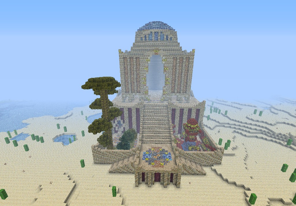 The House of Wisdom Minecraft Project