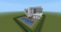 Modern House Design Minecraft Project