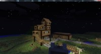 My first house project Minecraft Project