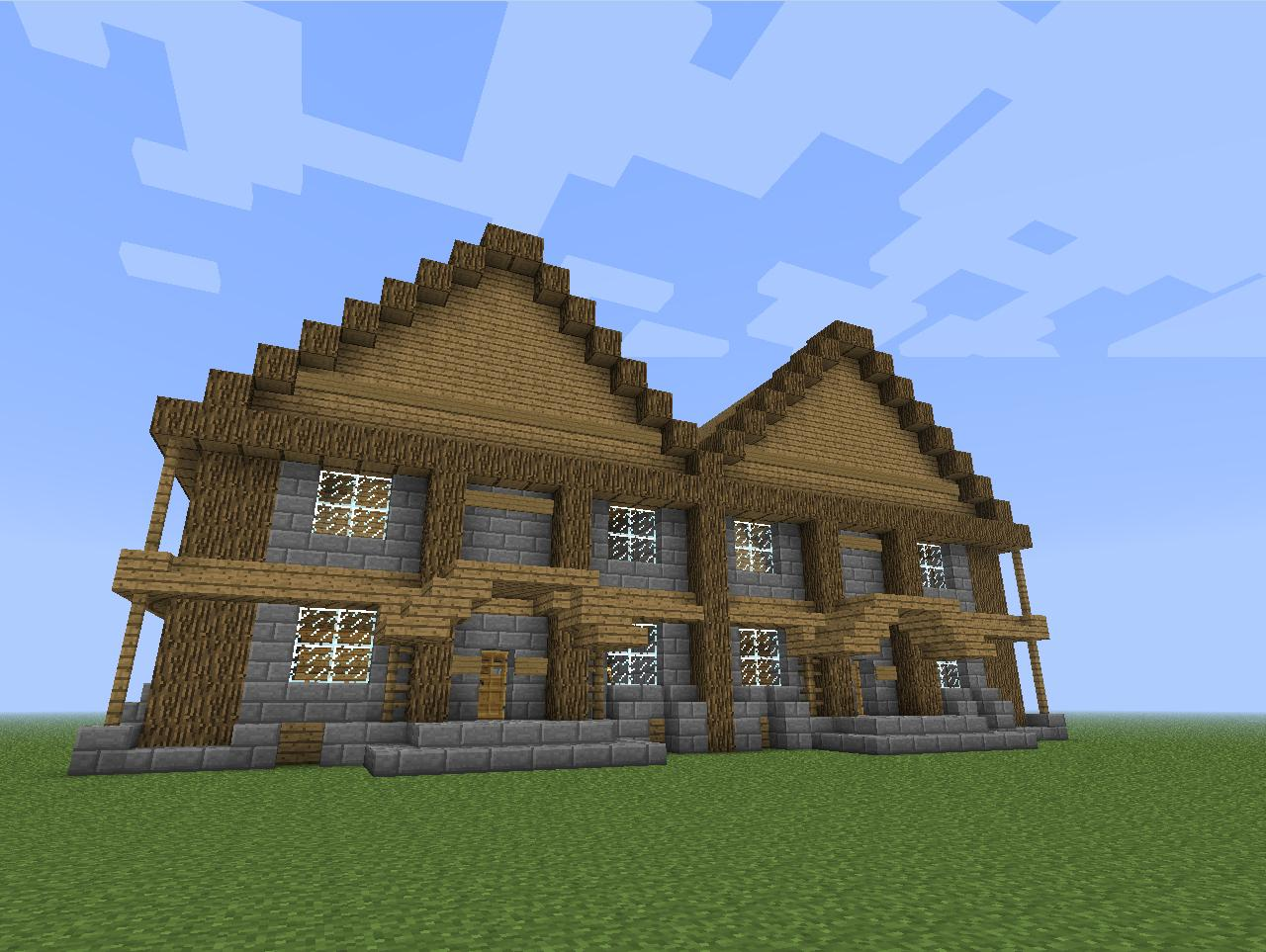 Cool House Minecraft Project