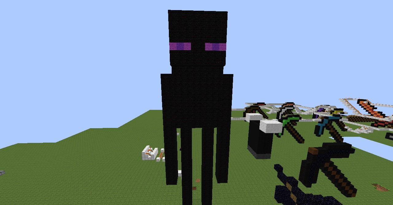 Minecraft EnderMan Minecraft Project