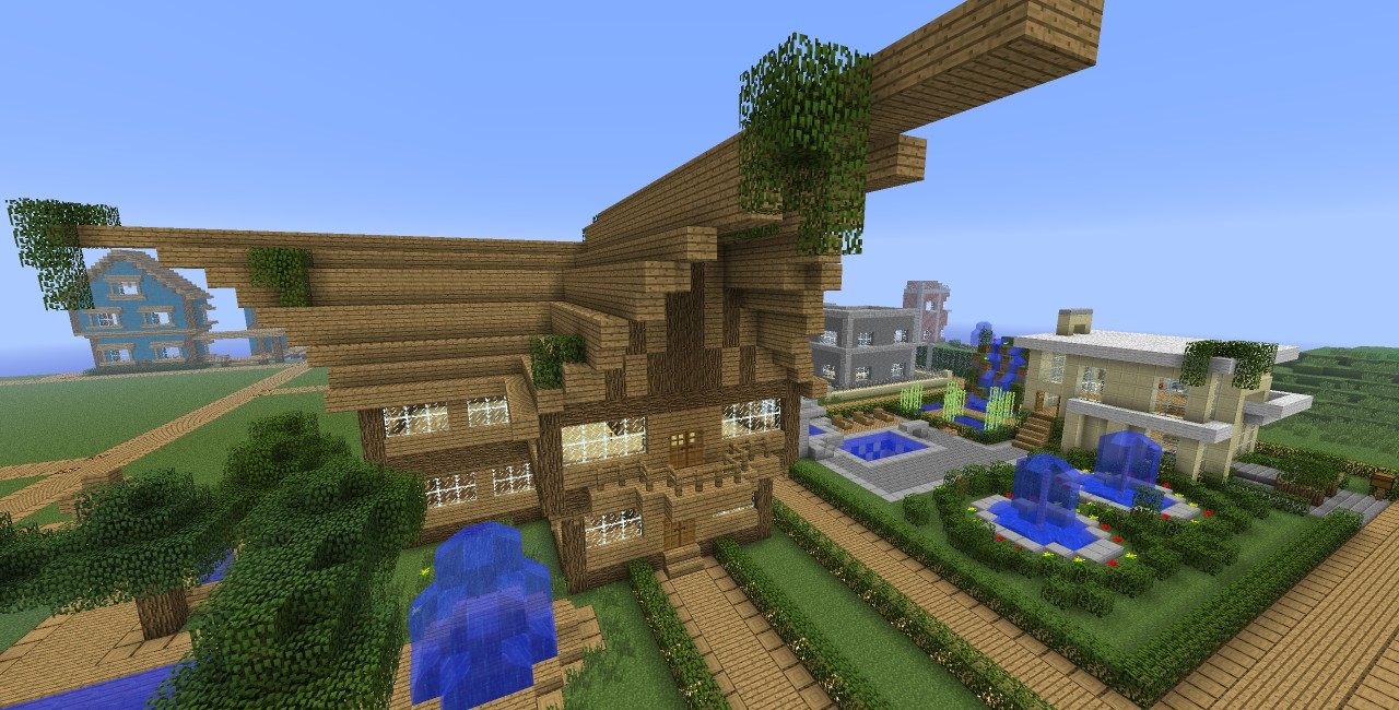 Brilliant House The Most Brilliant House I Ve Made Minecraft Project