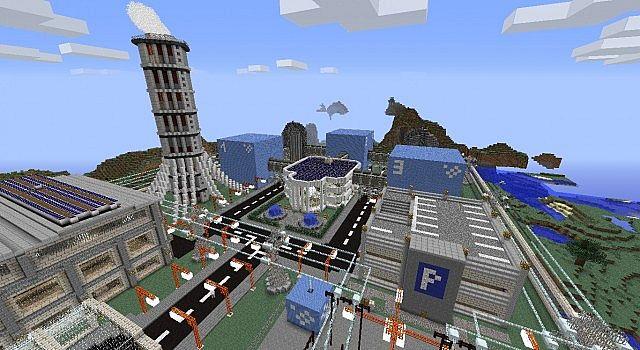 nuclear power plant schematic minecraft