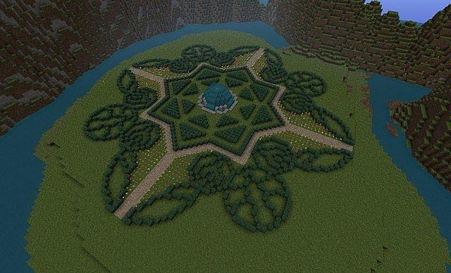 Garden Design Minecraft. Minecraft Garden Designs Download Design T