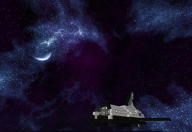 Minecraft Space Shuttle Minecraft Project