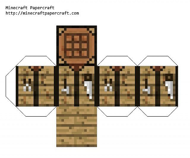 Papercraft What Is It Minecraft Blog