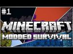 Minecraft Modded Survival Ep