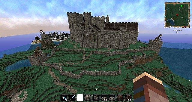 Wallpaper Minecraft Hd 3d The Rock Of Cashel Restoration Project Minecraft Project