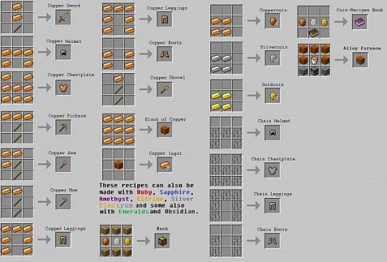 pixelmon fossil machine recipe