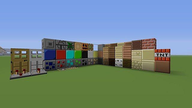 3D Plastism - A minecraft 162 pack Minecraft Texture Pack