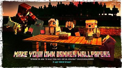 Make custom Minecraft Banners/Wallpapers in your internet browser! Minecraft Blog