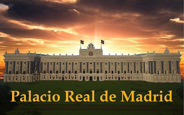 Real Madrid Wallpaper 3d Palacio Real De Madrid Minecraft Project