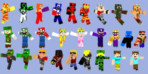 How to easily make Minecraft Skins Minecraft Blog