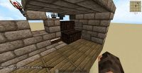Auto Furnace with Minecart Minecraft Project