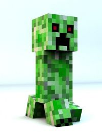 [FREE] - Minecraft Cinema4D Creeper Rig Minecraft Project