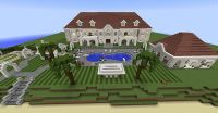 Private beach mansion Minecraft Project