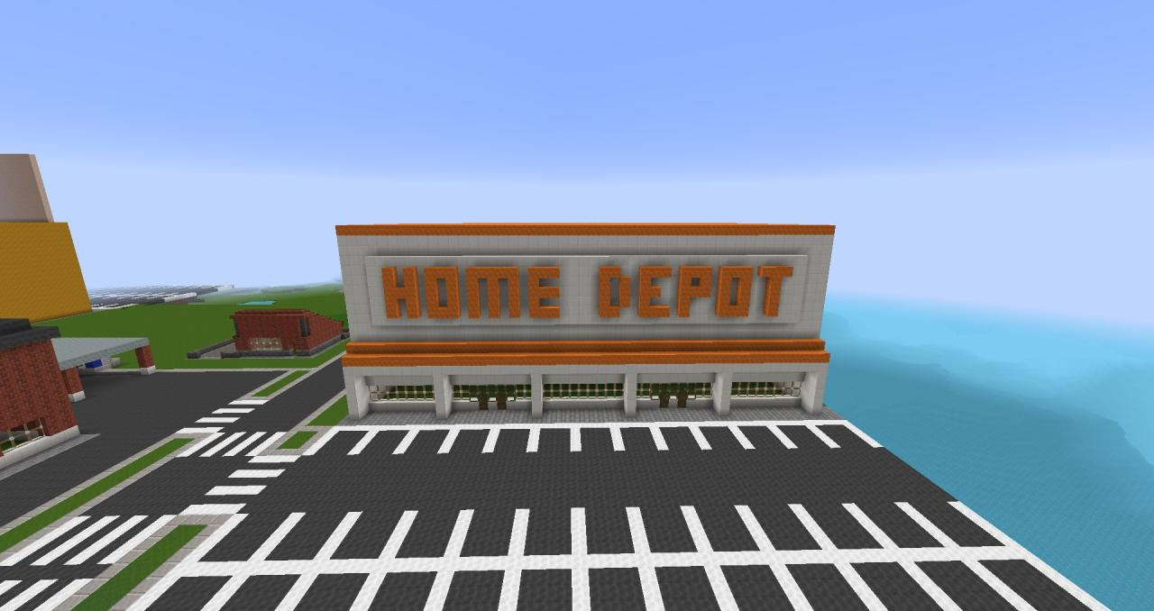 Bank Home Depot Home Depot Minecraft Project