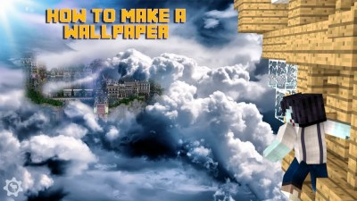 How to make your own wallpaper! Minecraft Blog