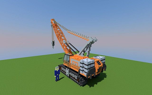 Job Project Engineer Crawler Crane Minecraft Project