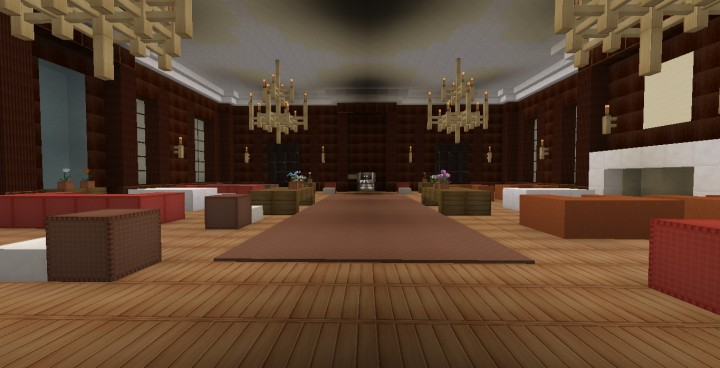 Craft Room Lynnewood Hall Minecraft Project