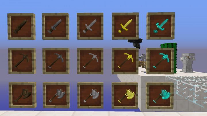 Spark\u0027s Tools Pack 3D Minecraft Texture Pack