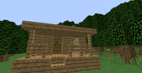First Night House Tutorial Minecraft Project