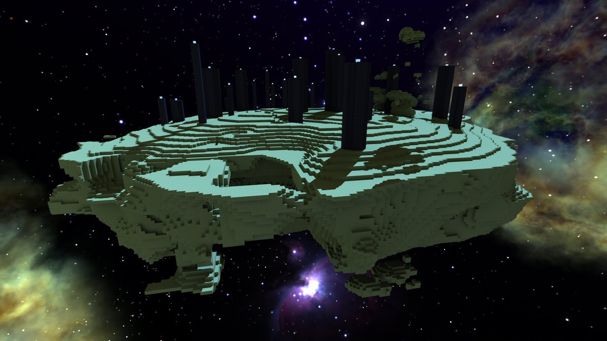 Minecraft Wallpaper 3d Herobrine Minecraft Theory Is The End An Endermen S Dream