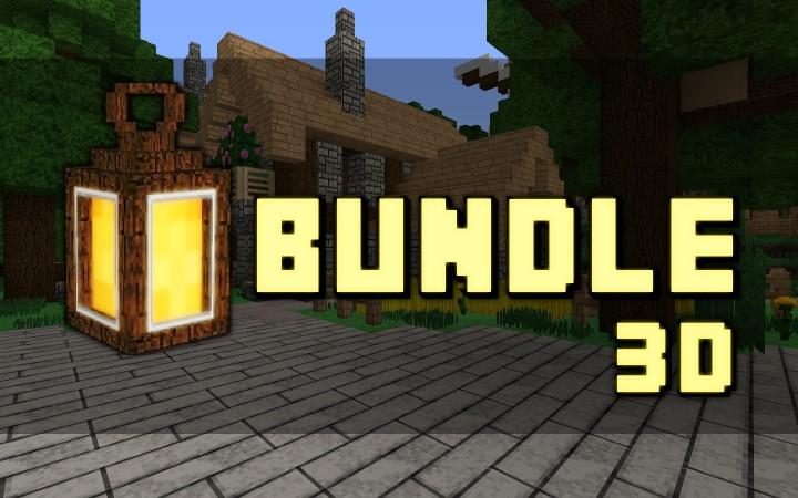 111 Bundle x32 3D Minecraft Texture Pack