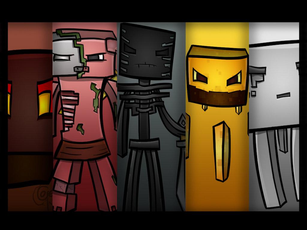 Minecraft Wallpaper 3d Herobrine Minecraft Theory Explaining Nether Mobs Through Mutation