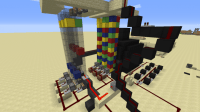 Amazing REDSTONE SLOTMACHINE! Minecraft Project