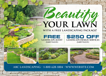 landscape direct mail brochure contest entry 44 for design an