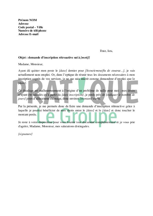 image modele des lettres lettre de presentation