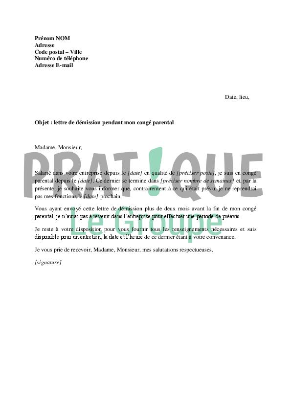 lettre de courrier