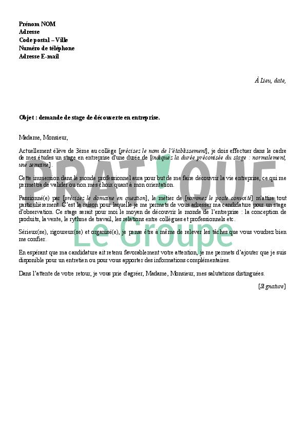 lettre de motivation stage notaire